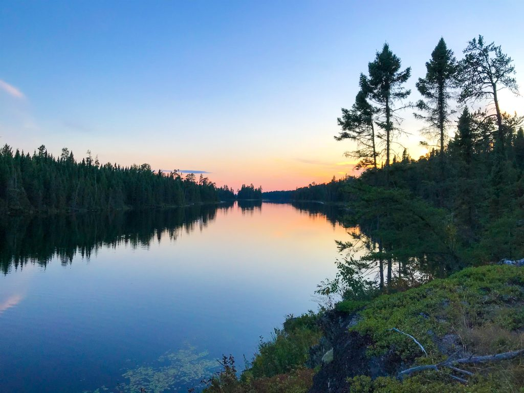 Quetico is an excellent destination for backcountry camping in Ontario