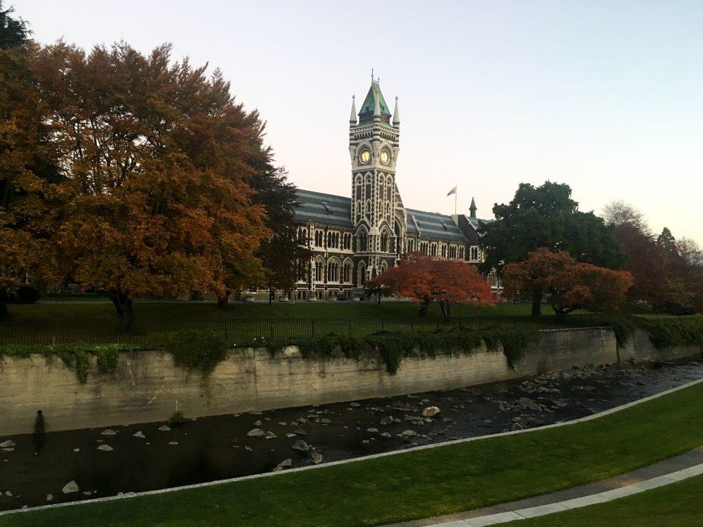 University of Otago in Dunedin New Zealand