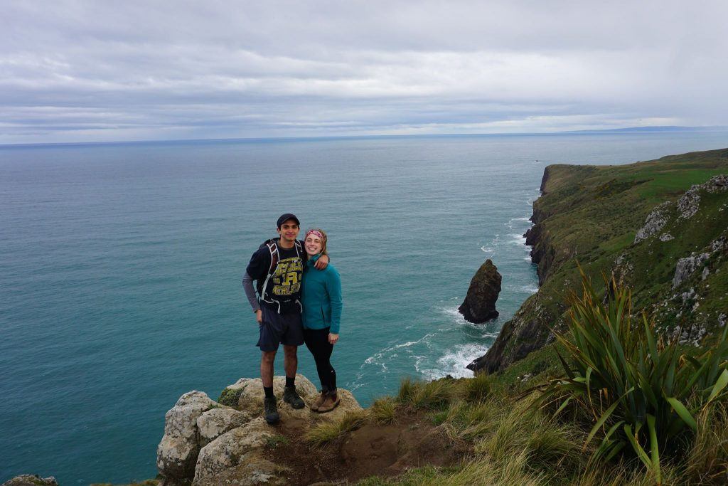 Lover's Leap, Otago Peninsula, New Zealand hiking