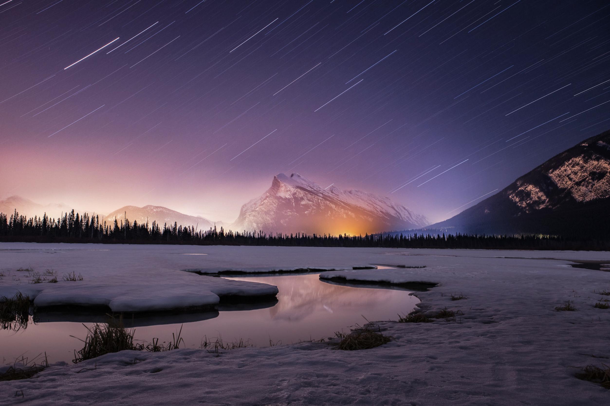Zach Baranowski Photo Vermillion Lakes Banff National Park