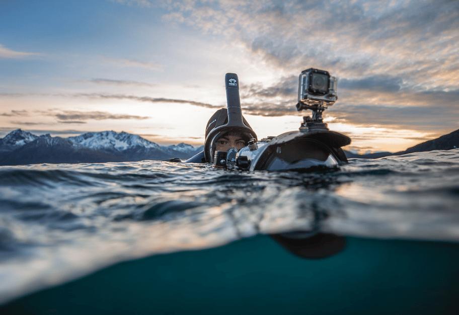 Zach Baranowski Photography Diving