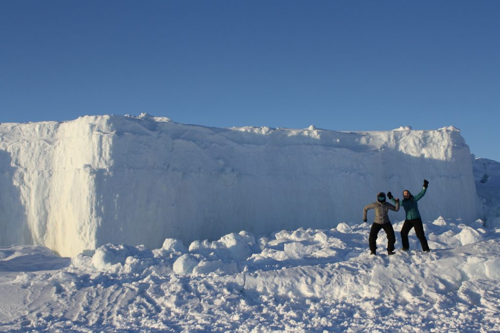 Guiding Snowmobile Trips in Nunavut