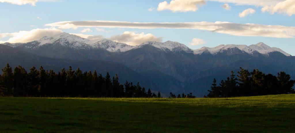 Mountains near Kaikoura
