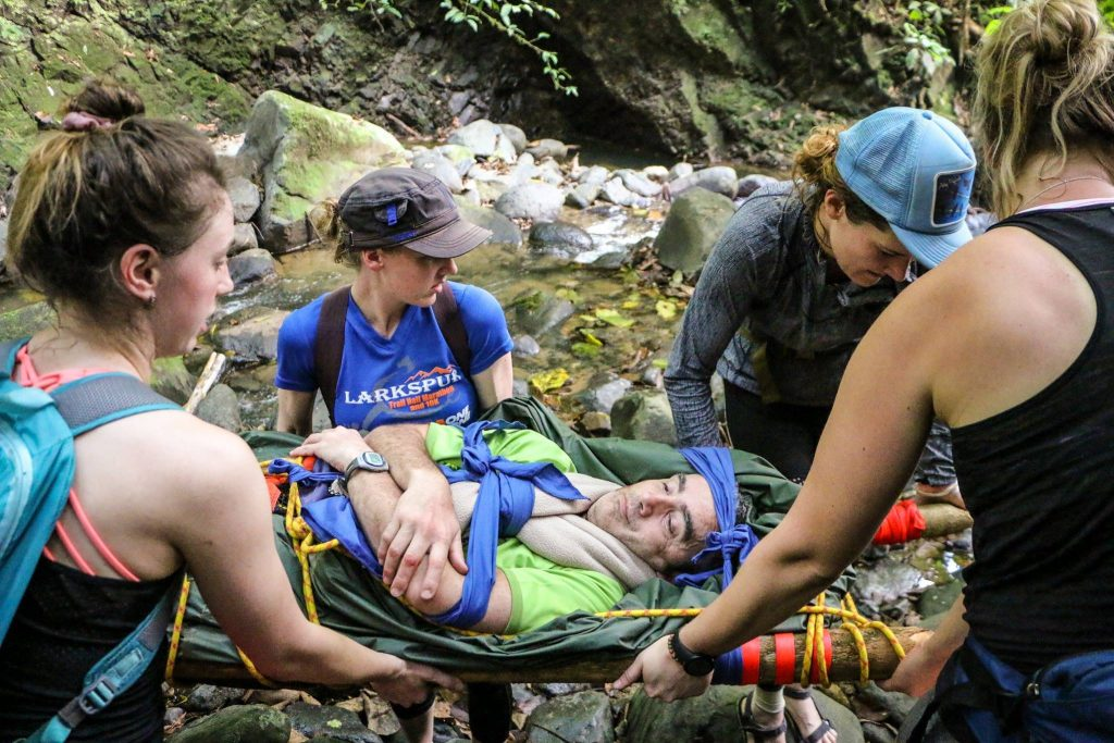 Wilderness Medicine Training is an important part of becoming an outdoor adventure guide
