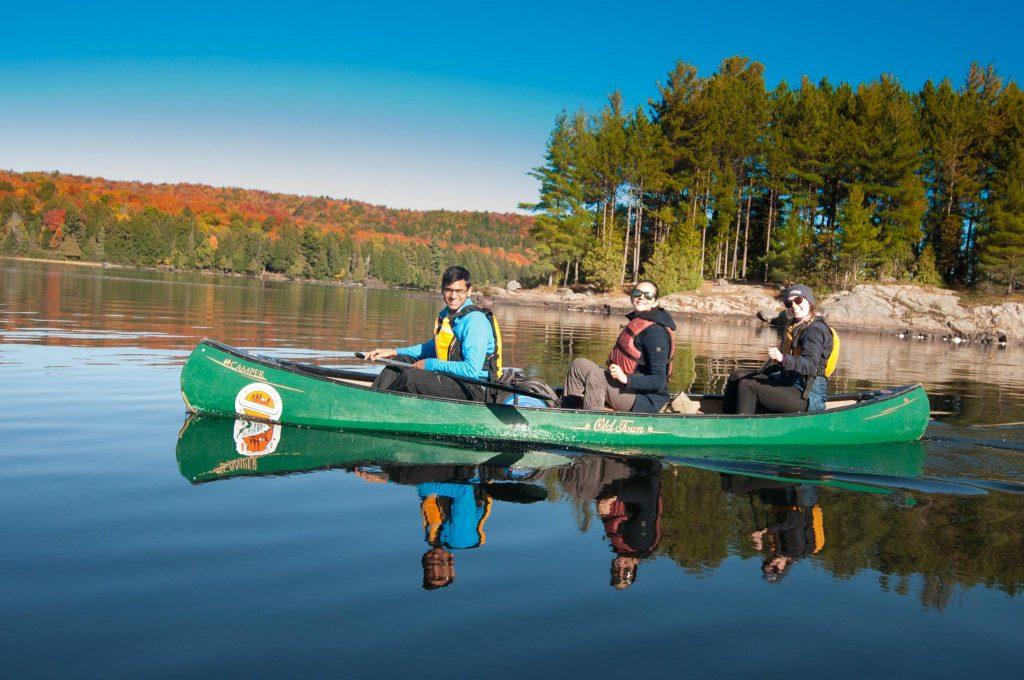 Canoe Camping Trip in Algonquin