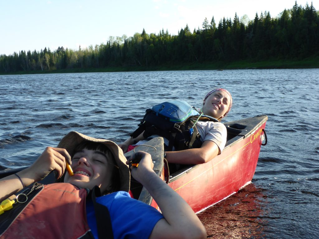 Canoeing on the Missinaibi River