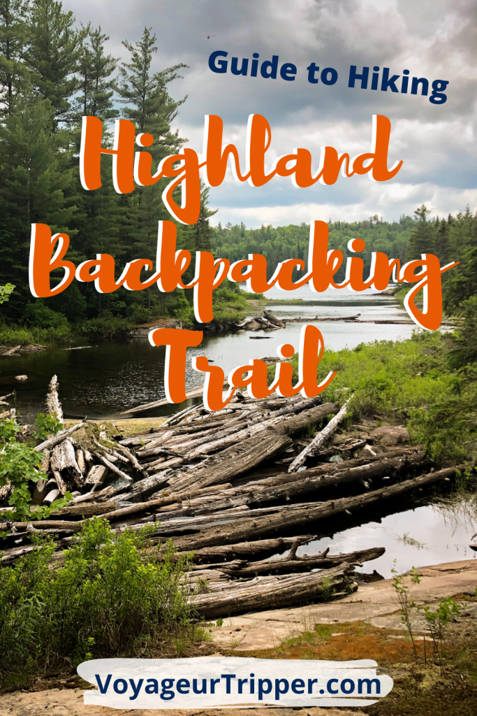 Highland Backpacking Trail Pin