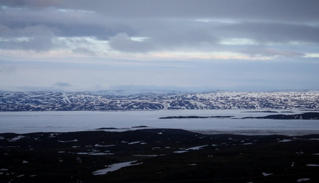 View of the bay around Iqaluit
